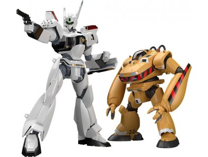 Mobile Police Patlabor Moderoid Plastic Model Kits 1/60 AV-98 Ingram & Bulldog 10 - 13 cm Good Smile Company