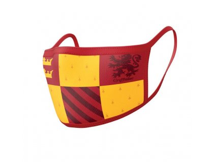 Harry Potter Face Masks 2-Pack Gryffindor Pyramid International
