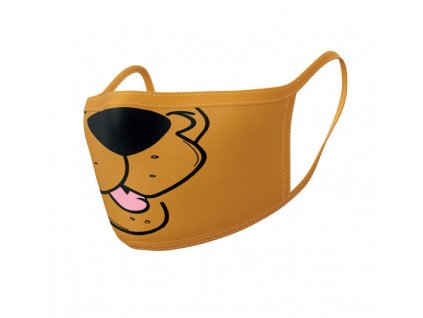 Scooby-Doo Face Masks 2-Pack Mouth Pyramid International