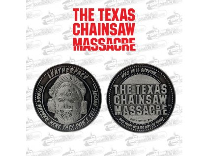 Texas Chainsaw Massacre Collectable Coin Leatherface Limited Edition FaNaTtik