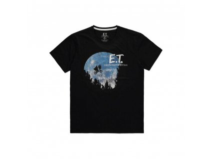 E.T. the Extra-Terrestrial T-Shirt The Moon Difuzed