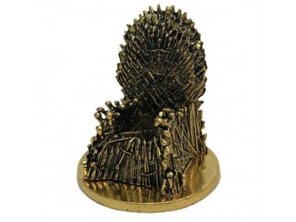 Game of Thrones KUZO Diecast Mini Replica Iron Throne Gold Variant SDCC 2019 5 cm Factory Entertainment