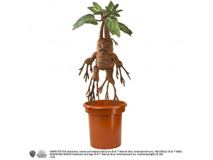 Harry Potter Interactive Plush Figure Mandrake 30 cm Noble Collection