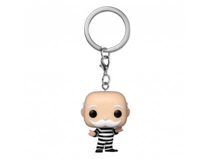 Monopoly Pocket POP! Vinyl Keychains 4 cm Criminal Uncle Pennybags Display (12) Funko