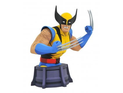 Marvel X-Men Animated Series Bust Wolverine 15 cm Diamond Select