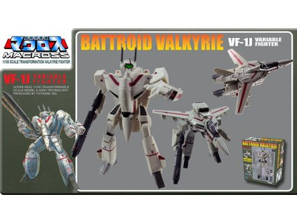 Macross Retro Transformable Collection Action Figure 1/100 VF-1J Ichijo Valkyrie 13 cm Toynami