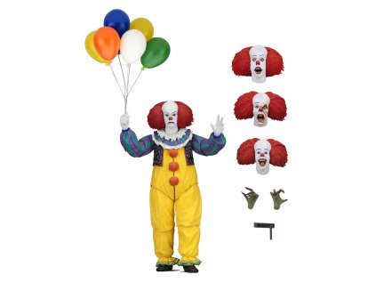 Stephen King's It 1990 Action Figure Ultimate Pennywise 18 cm NECA
