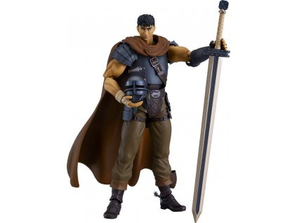 Berserk Movie Figma Action Figure Guts Band of the Hawk Ver. Repaint Edition 17 cm Max Factory