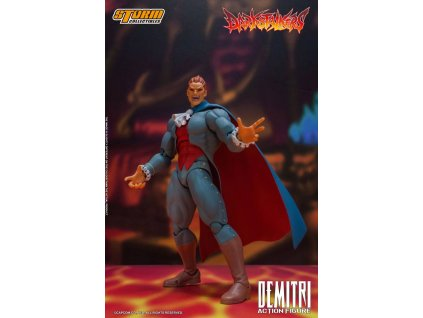 Darkstalkers Action Figure 1/12 Demitri Maximoff 24 cm Storm Collectibles
