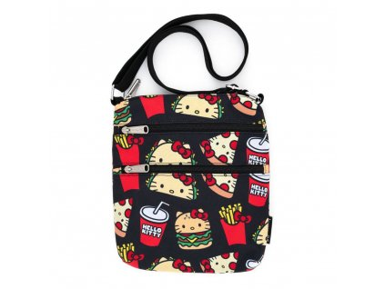 Hello Kitty by Loungefly Passport Bag Snacks AOP Loungefly