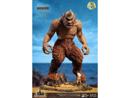 The 7th Voyage of Sinbad Soft Vinyl Statue Ray Harryhausens Cyclops Deluxe Version 32 cm Star Ace Toys