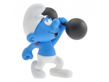 The Smurfs Collector Collection Statue Hefty Smurf 15 cm Plastoy