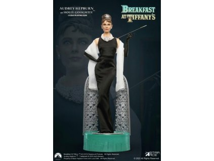 Breakfast at Tiffany's Statue 1/4 Holly Golightly (Audrey Hepburn) Deluxe Ver. 52 cm Star Ace Toys