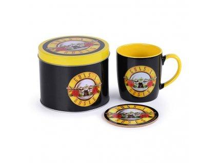 Guns N' Roses Mug with Coaster Bullet Logo Pyramid International