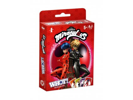 Miraculous: Tales of Ladybug & Cat Noir Card Game WHOT! *German Version* Winning Moves