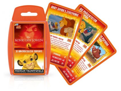 The Lion King Card Game Top Trumps *German Version* Winning Moves