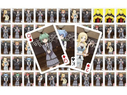 Assassination Classroom Playing Cards Characters Sakami Merchandise