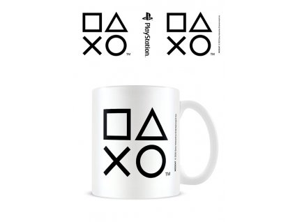 Sony PlayStation Mug Sticker Shapes Black Pyramid International
