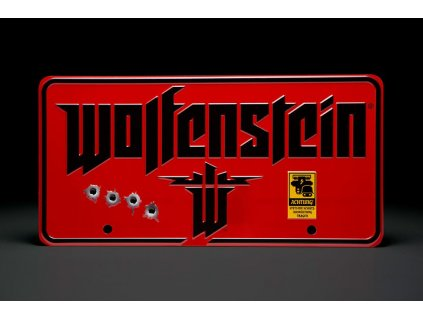 Wolfenstein Metal Sign The New Colossus Doctor Collector