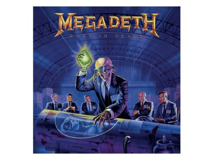 Megadeth Rock Saws Jigsaw Puzzle Rust in Peace (500 pieces) PHD Merchandise