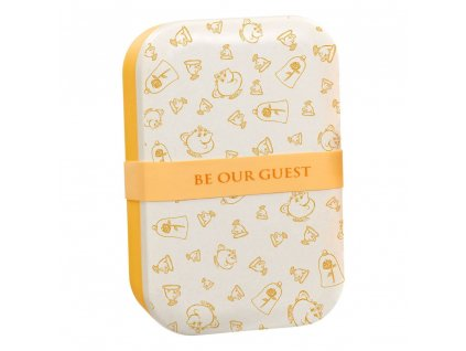 Disney Bamboo Lunch Box Be Our Guest Funko