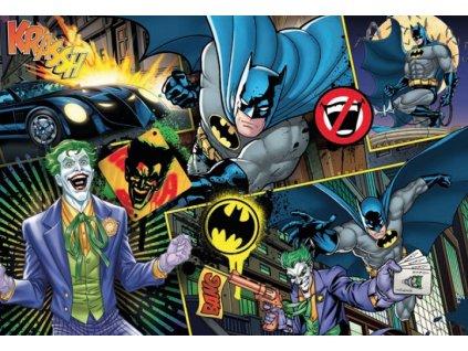 DC Comics Supercolor Jigsaw Puzzle Batman (104 pieces) Clementoni