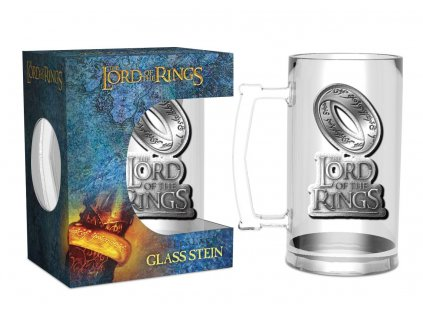 Lord of the Rings Glass Stein The One Ring GB eye