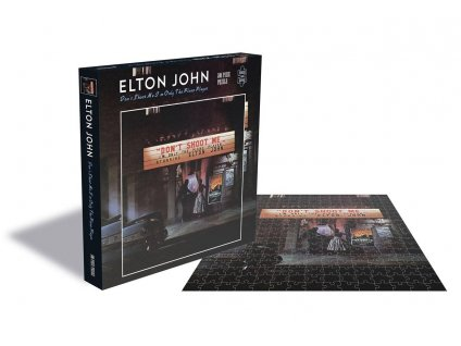Elton John Puzzle Don't Shoot Me I'm Only the Piano Player PHD Merchandise