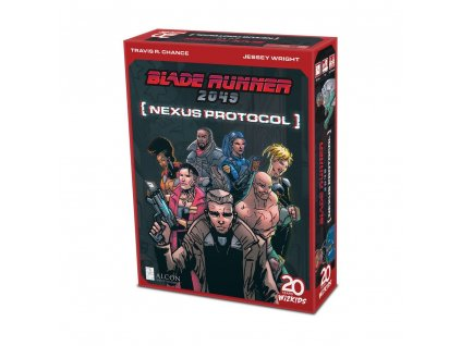 Blade Runner 2049: Nexus Protocol Card Game *English Version* Wizkids