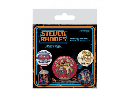 Steven Rhodes Pin Badges 5-Pack Collection Pyramid International