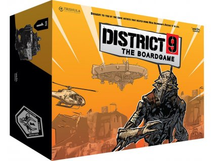 District 9 The Board Game *English Version* Weta Collectibles