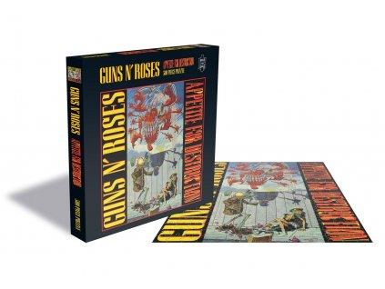 Guns n' Roses Puzzle Appetite for Destruction PHD Merchandise