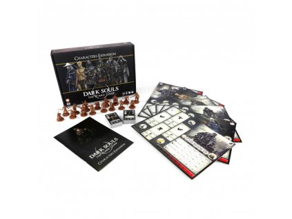 Dark Souls The Board Game Expansion Characters *English Version* Steamforged Games