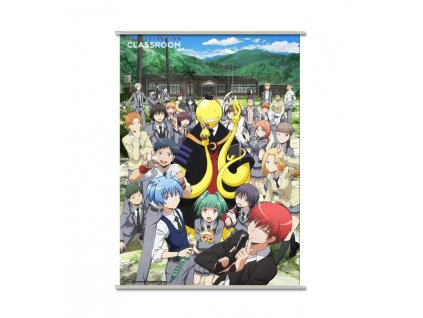 Assassination Classroom Wallscroll Koro & Students 90 x 60 cm Sakami Merchandise