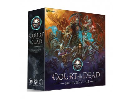 Court of the Dead Tabletop Game Mourners Call *English Version* USAopoly