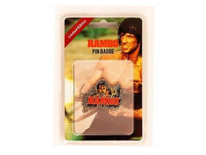 Rambo Pin Badge Rambo FaNaTtik