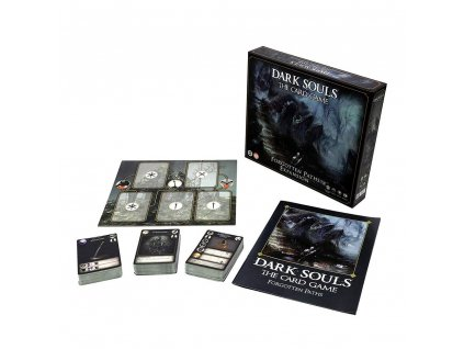 Dark Souls The Card Game Expansion Forgotten Paths *English Version* Steamforged Games