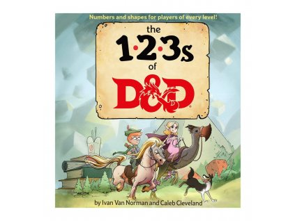 Dungeons & Dragons Book The 123s of D&D english Wizards of the Coast