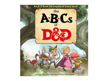 Dungeons & Dragons Book The ABCs of D&D english Wizards of the Coast