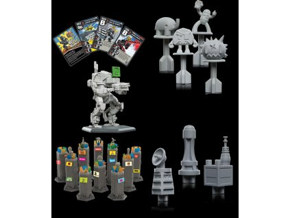 GKR Heavy Hitters Tabletop Game Expansion Pack Urban Wasteland *English Version* Weta Collectibles