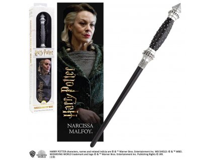 Harry Potter PVC Wand Replica Narcissa Malfoy 30 cm Noble Collection