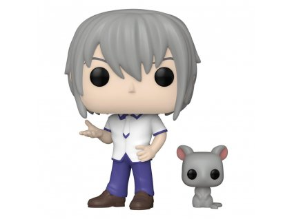 Fruits Basket POP! Animation Vinyl Figure Specialty Series Yuki Soma w/Rat 9 cm Funko