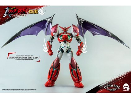 Getter Robot: The Last Day Robo-Dou Action Figure Shin Getter 1 Anime Color Version 23 cm ThreeZero