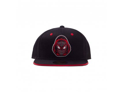Spider-Man Snapback Cap Morales Badge Difuzed