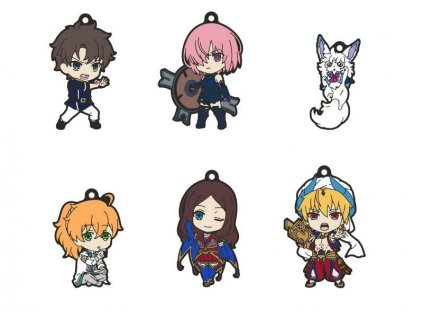Fate/Grand Order - Absolute Demonic Front: Babylonia Nendoroid Plus Keychain 6-Pack Vol. 1 6 cm Good Smile Company