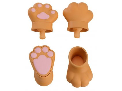 Original Character Parts for Nendoroid Doll Figures Animal Hand Parts Set (Brown) Good Smile Company
