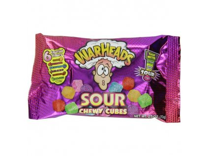 warheads sour chewy cubes 70 g