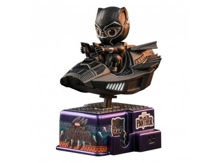 Black Panther CosRider Mini Figure with Sound & Light Up Black Panther 15 cm Hot Toys