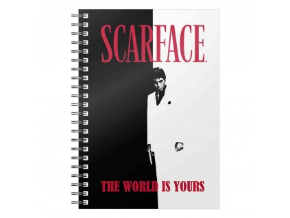 Scarface Notebook The World Is Yours SD Toys