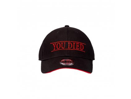 Demon's Souls Curved Bill Cap You Died Difuzed